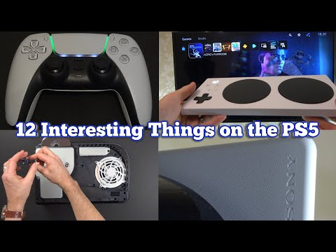 (New) 12 interesting things on the ps5