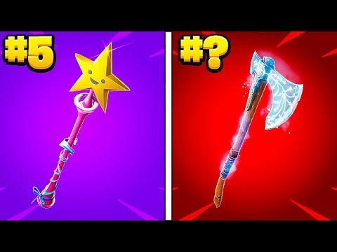 (HD) The sweatiest fortnite pickaxes of 2021