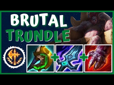 (New) Bring back trundle is season 11 with another op build!! - tank killer trundle | season 11 lol