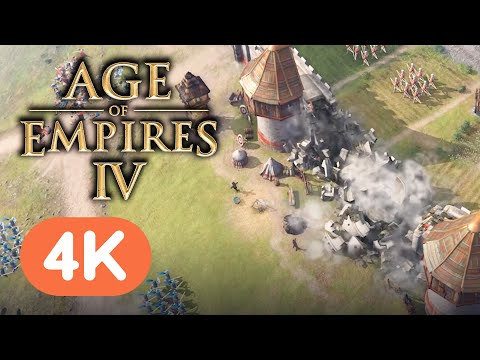 (New) Age of empires iv - official gameplay trailer (4k) | e3 2021