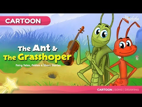 (Ver Filmes) The ant and the grasshopper bedtime stories for kids in english