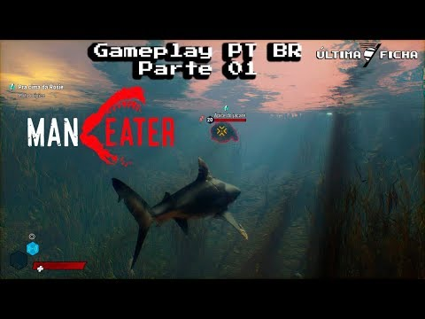 (New) Maneater gameplay parte 1 pt-br