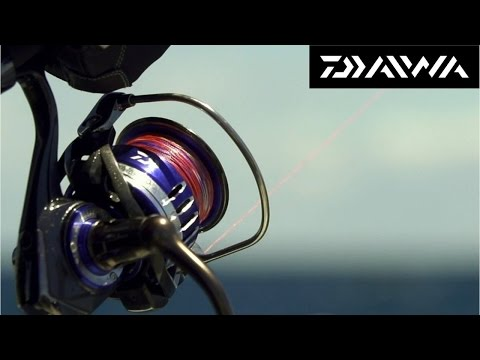 (New) Daiwa presents: brand new 2015 saltiga reel - in action