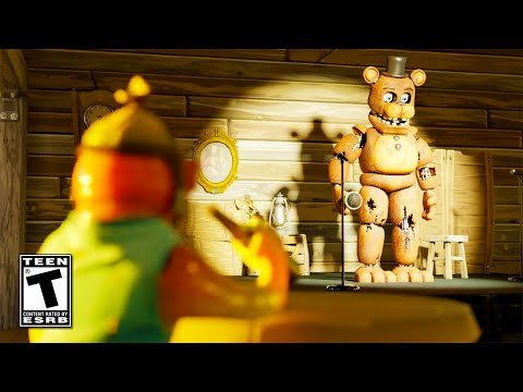 (Ver Filmes) Freddy fazbear arrives through the zero point | fortnite trailer
