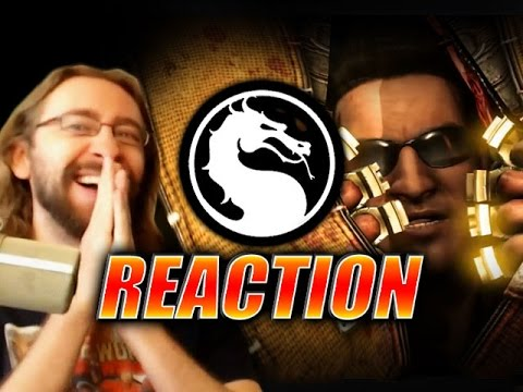 (New) Max reacts: johnny e sonya cage trailer