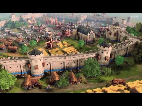 (New) Age of empires 4 - x019 gameplay trailer
