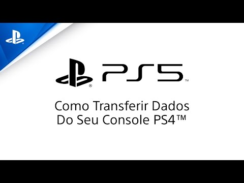 (New) Playstation 5 - como transferir seus dados do ps4 para o ps5 | ps4, ps5