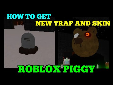 (HD) *new* how to get mr. stitchy and tombstone trap in roblox piggy!