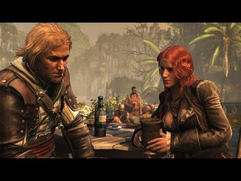 (HD) Assassins creed 4 black flag - parting glass ending song