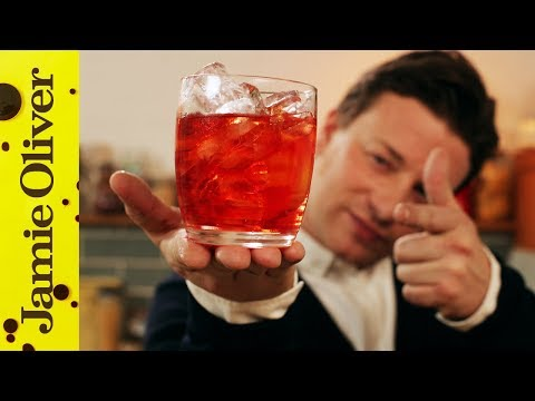 (HD) Jamies classic cocktails | the negroni