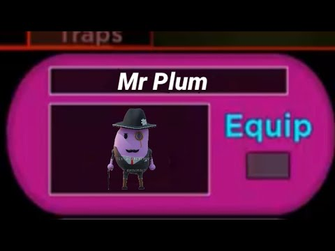 (HD) How to get new mr plum skin on roblox piggy! [new mr p skin]