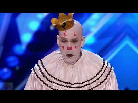 (New) Puddles pity party all performances   americas got talent