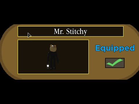 (HD) How to unlock mr. stitchy! new secret piggy skin... (piggy halloween event)