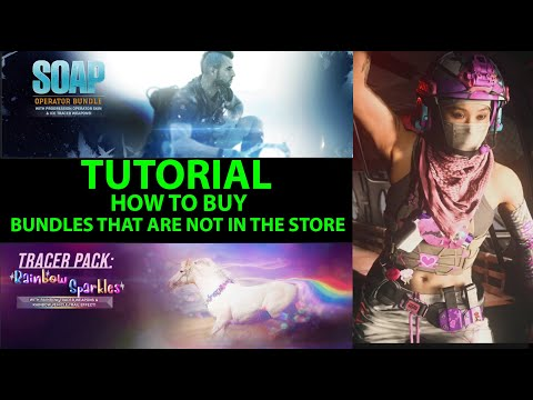 (New) Tutorial how to buy any bundle thats not in store for warzone and modern warfare. buy old bundles