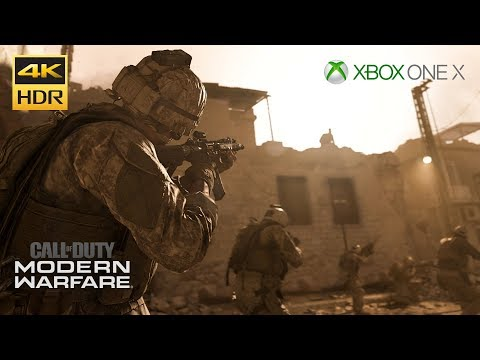 (New) Call of duty: modern warfare 4k hdr xbox one x walkthrough gameplay part #6 hunting party