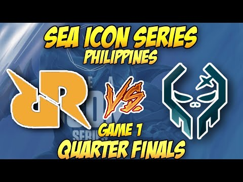 (VFHD Online) Rrq vs execration game 1 (bo5) | sea icon series philippines | quarter finals
