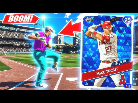 (New) Mike trout in the craziest ending ever *omg* mlb the show 21 next gen gameplay