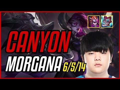 (New) Canyon - morgana vs kayn jungle - euw master - patch 11.9
