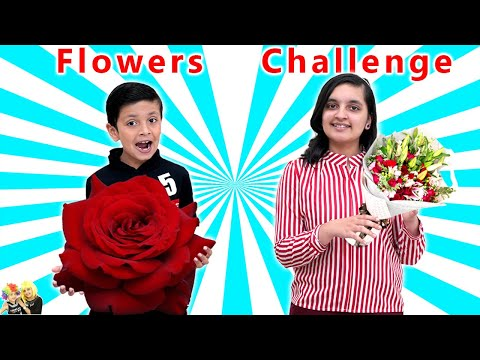 (Ver Filmes) 11 flower challenge | aayu vs pihu blindfold challenge | general knowledge | aayu and pihu show