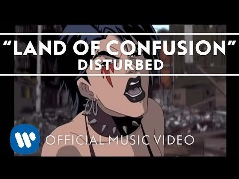 (New) Disturbed - land of confusion [official music video]
