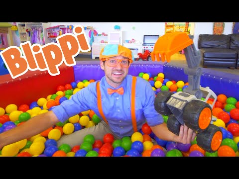 (Ver Filmes) Blippi fun and learning at the fidgets indoor playground for kids | 1 hour of blippi learning videos