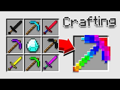 (HD) Quest to craft the perfect pickaxe!!