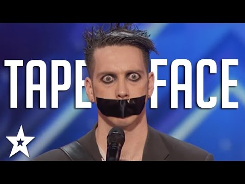 (VFHD Online) Tape face auditions e performances | americas got talent 2016 finalist
