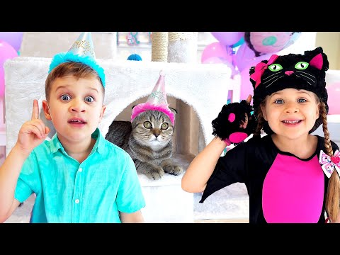 (New) Diana and roma - the best cat stories for kids