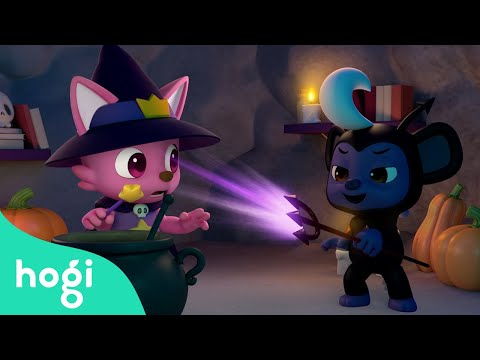 (Ver Filmes) Learn colors with halloween magic soup and more! | halloween songs | nursery rhyme | hogi kids songs