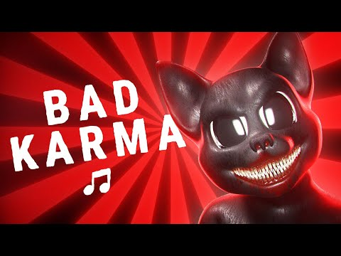 (New) Cartoon cat - bad karma (official song)