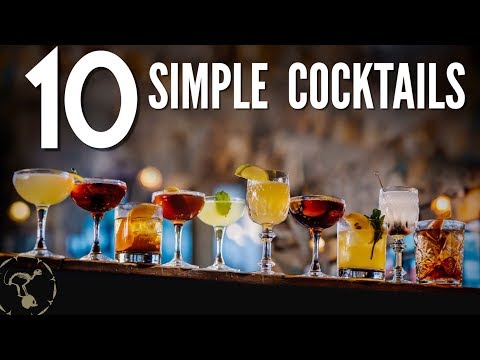 (HD) 10 simple cocktails!