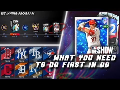 (New) The first things to do in mlb the show 21! get free diamonds and packs fast! mlb 21 diamond dynasty