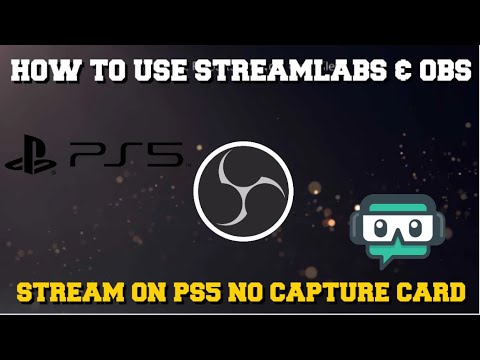 (New) How to stream on ps5 using streamlabs obs without a capture card full setup guide!