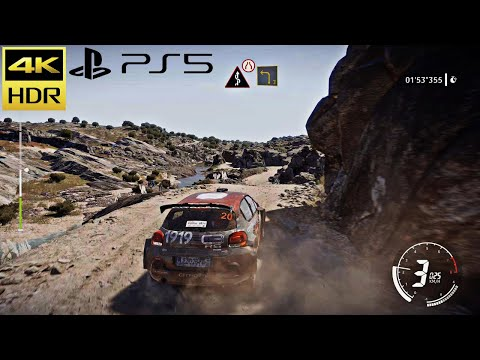(New) (ps5) citroën - wrc 9 next gen incredible ultra graphics | argentina rally gameplay (4k hdr 60fps)