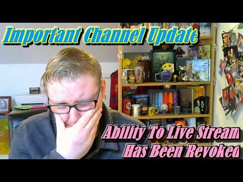 (Ver Filmes) Important channel update -my ability to live stream has been revoked