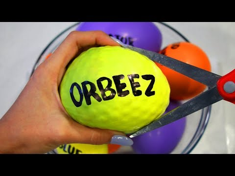 (Ver Filmes) How to make orbeez, beados e play foam slime with balloons!