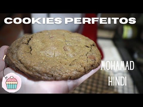(New) Cookies de chocolate perfeitos do mohamad hindi !!