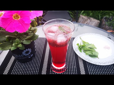 (New) Rose mojito recipe | refreshing summer drink in 2 minutes! summer drinks | mocktail