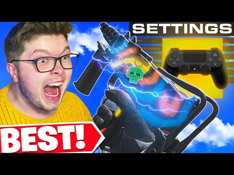 (HD) The best cod warzone settings e sensitivity! 👀 (cold war warzone)