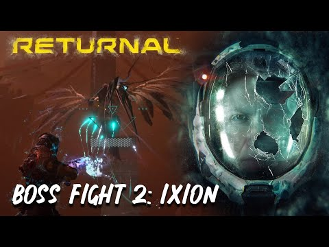 (New) Returnal   boss fight #2 - ixion (4k 60fps) - no commentary (spoilers)