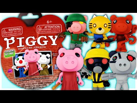 (New) Piggy toys revealed.. secret skins e codes! | roblox piggy
