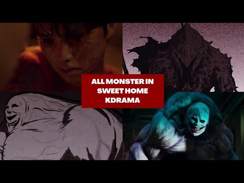 (New) All monster in sweet home kdrama (webtoon vs kdrama) | fangirling mode hyo