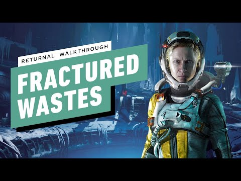 (New) Returnal ps5 gameplay walkthrough part 5 - fractured wastes (1080p) no commentary