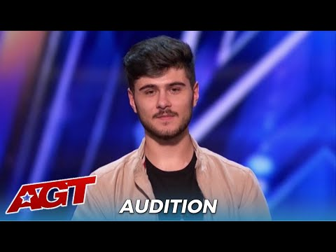 (New) Luca di stefano: the judges can not beileve the voice coming out of his mouth!