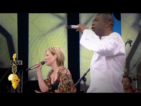 (New) Dido   youssou ndour - 7 seconds (live 8 2005)