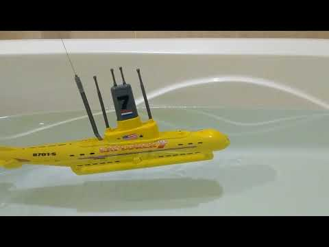 (HD) Unidac explorer 7 rc submarine 3