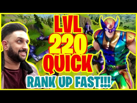 (New) How to quickly level up *fast* in fortnite season 4 (really fast xp guide)