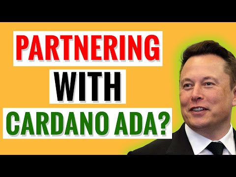(New) Must see! is elon musk partnering with cardano ada?!