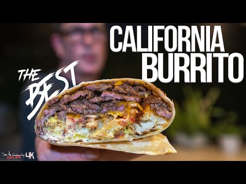 (New) The best california burrito | sam the cooking guy 4k