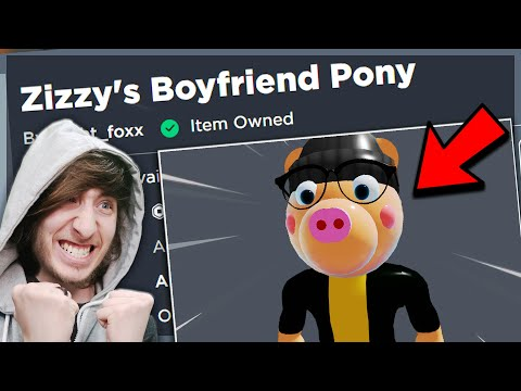 (HD) The pony roblox avatar is here.. (roblox piggy)
